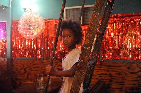 RED LIGHT DISTRICT: Hushpuppy (Quvenzhané Wallis) searches for her mother in a house of ill-repute in Beasts of the Southern Wild. (Photo: Fox Searchlight)