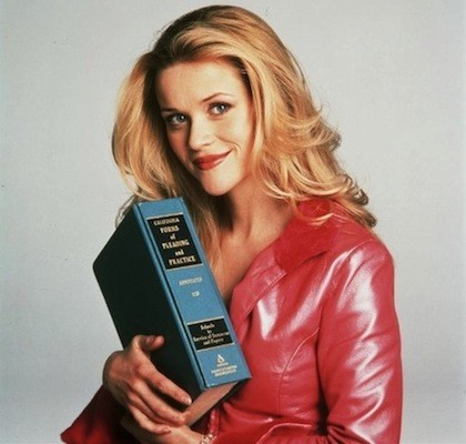 Reese Witherspoon in Legally Blonde (Photo: Fox)