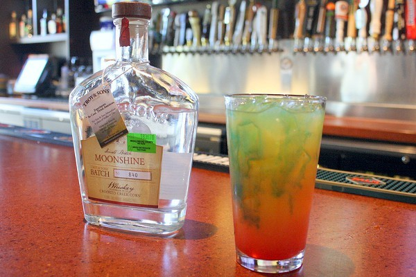 Reggae Moon -- made with Troy and Sons Moonshine
