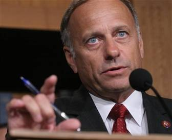 Rep. Steve King: Look into my eyes . . . you are getting very, very stupid