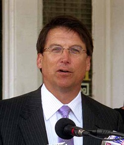 CHRIS RADOK - REPLACE ME: Who will fill the shoes of Mayor Pat McCrory?
