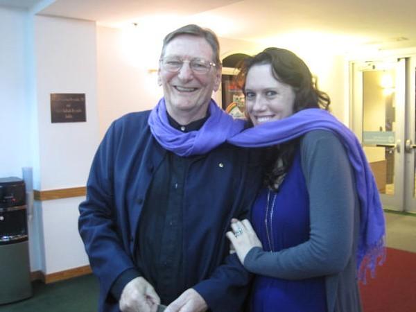 Mr. Schepisi with CL writer Natalie Howard