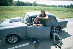 COURTESY OF THE CRITERION COLLECTION - ROAD WARRIORS: Laurie Bird, James Taylor and Dennis Wilson in Two-Lane Blacktop.
