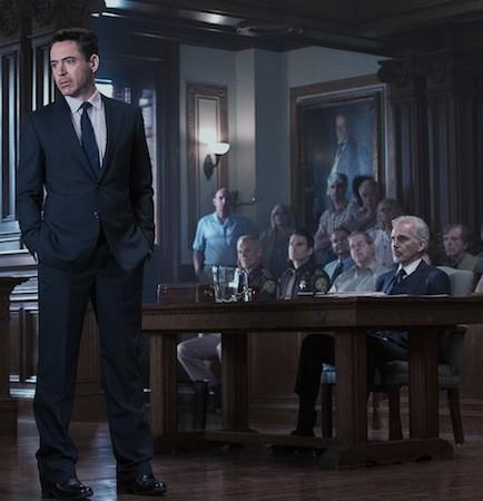 Robert Downey Jr. and Billy Bob Thornton (far right) in The Judge (Photo: Warner Bros.)