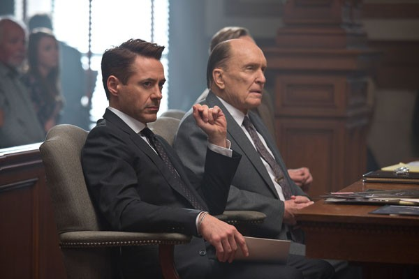 Robert Downey Jr. and Robert Duvall in The Judge - WARNER BROS.