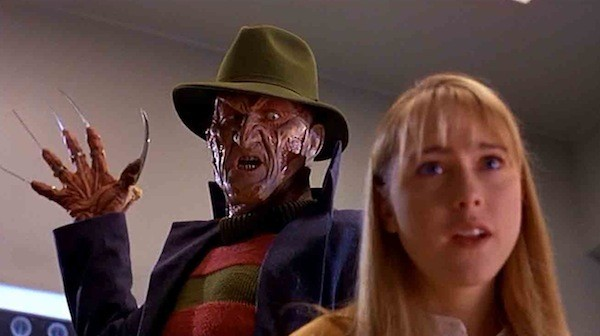Robert Englund and Tracy Middendorf in Wes Craven's New Nightmare (Photo: Warner Bros. & New Line)