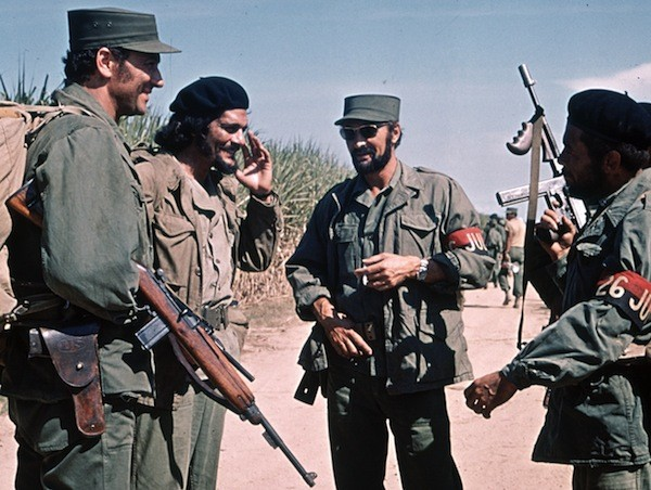 Robert Loggia, Omar Sharif, Jack Palance and Adolph Caesar in Che! (Photo: Twilight Time)
