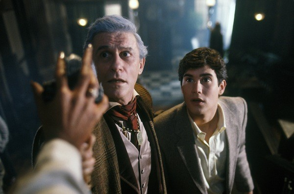 Roddy McDowall and William Ragsdale in Fright Night (Photo: Twilight Time)