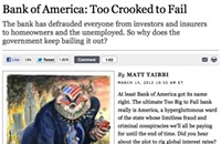 <i>Rolling Stone</i> says Bank of America is too big &#8212; er, crooked &#8212; to fail