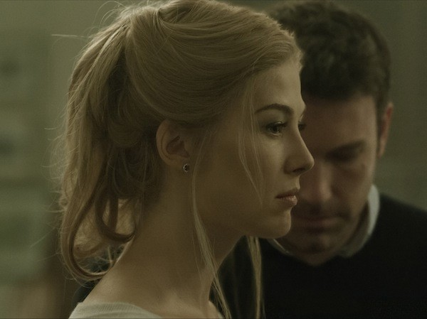 Rosamund Pike and Ben Affleck in Gone Girl (Photo: Fox)