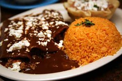 CATALINA KULCZAR-MARIN - RUN FOR THE BORDER: Enchiladas rancheros