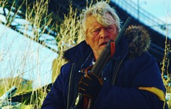MAGNET - Rutger Hauer in Hobo with a Shotgun