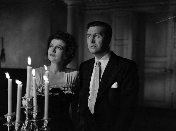 Ruth Hussey and Ray Milland in The Uninvited (Photo: Criterion Collection)
