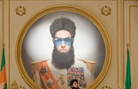 <i>The Dictator</i> rules, then falters