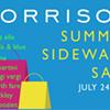 Sale of the day: Morrison sidewalk sale