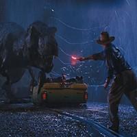 Sam Neill and friend in Jurassic Park (Photo: Universal)