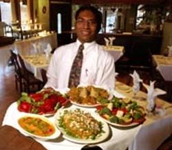 RADOK - Sangam Indian Cuisine's colorful dishes