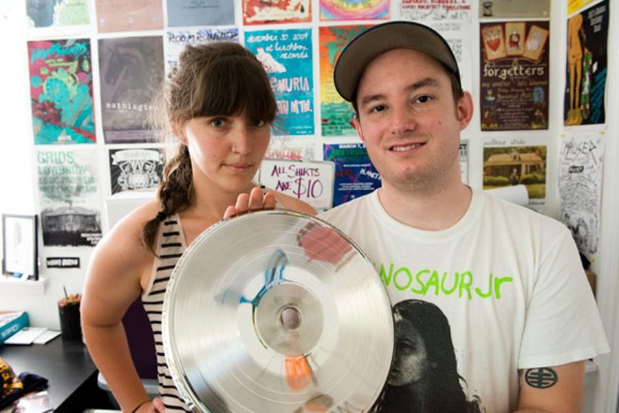 Sarah Blumenthal Robbins and Josh Robbins - JOHN PICKLESIMER