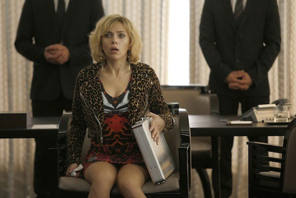 Scarlett Johansson in Lucy (Photo: Universal)