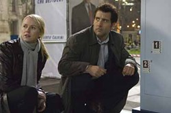 COLUMBIA - SCENE OF THE CRIME: Naomi Watts and Clive Owen in The International.