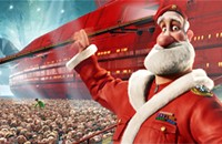 <i>Arthur Christmas</i> brings the cheer