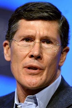 AFP PHOTO / FILES / FABRICE COFFRINI - SEPUKU ANYONE?: Former Merrill Lynch CEO John Thain