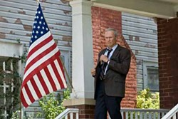 SERVING HIS COUNTRY: Clint Eastwood continues to deal with societal