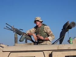 Sgt. Christopher Tomlinson, aka Prophet - MARSHALL ICE