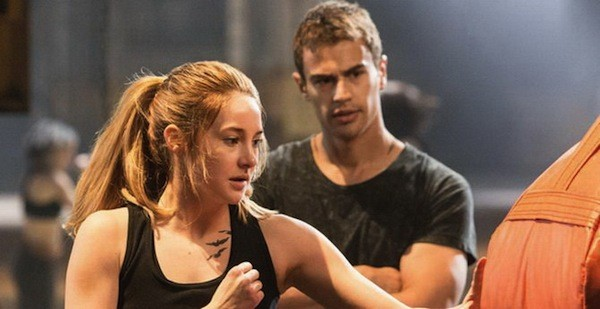 Shailene Woodley and Theo James in Divergent (Photo: Summit)