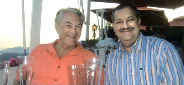 Shameless Crooks: Don Blankenship, Massey's CEO, right, and W. Virginia Supreme Court Justice Elliott Maynard, left, during a Massey-financed trip to Monaco in 2006