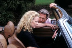 FOCUS FEATURES - SHIFTING GEARS Married couple Kim Basinger and - Jeff Bridges agree to test-drive a separation in The - Door In the Floor