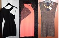 Shopping dresses for Charlotte's 11th Annual Bartender's Ball