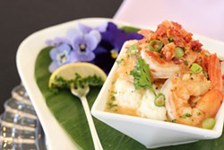 KEIA MASTRIANNI - Shrimp and grits from Delectables by Holly