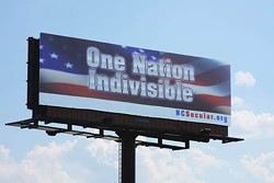 JASIATIC - SIGN OF THE TIMES?: The NCSA's new billboard on Billy Graham Parkway
