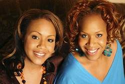SISTER LOVE: Mary Mary will perform during For Sisters Only at The Blake Hotel on May 16.