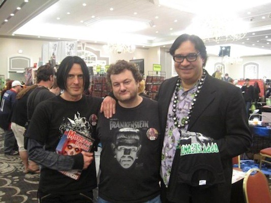 Skinny Puppy vocalist Nivek Ogre, CL Film Editor Matt Brunson and Mad Monster Party co-creator Joe Moe (all seen here at last year's event) will participate in a panel discussion about the late, great Forrest J Ackerman