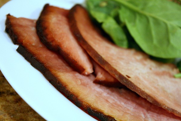 Sliced Easter Ham