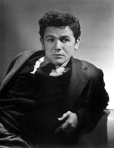 SMOLDERING: John Garfield emerged an overnight star thanks to Four Daughters.
