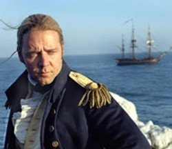 STEPHEN VAUGHAN/FOX & UNIVERSAL & MIRAMAX - SMOOTH SAILING Russell Crowe in Master and - Commander: The Far Side of the World