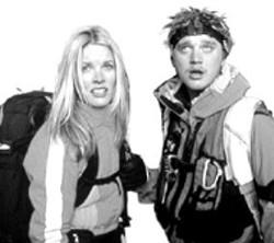 SNOW BORED Bridgette Wilson-Sampras  and - Devon Sawa in the doltish Extreme Ops -