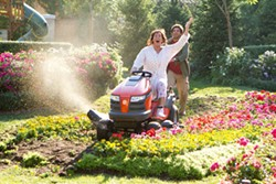 TRACY BENNETT / COLUMBIA - SOMEONE PLEASE MOW THEM DOWN: Adam Sandler and Eugenio Derbez in Jack and Jill