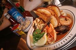 CATALINA KULCZAR - SOMETHING'S FISHY: Fish stew at Oceanaire