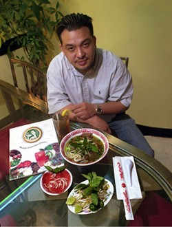 RADOK - SOUP'S ON: Paul Carr of Phó Hoa with Beef Combo Phó.