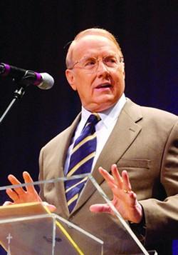 South Carolina's new governor, the Rev. James Dobson.