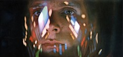 SPACING OUT: Keir Dullea in 2001: A Space Odyssey, included in the Stanley Kubrick Collection. (Photo: Warner)
