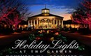 SPECIAL EVENT: Holiday Lights at the Garden