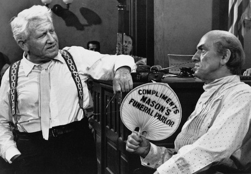 Spencer Tracy and Fredric March in Inherit the Wind (Photo: Twilight Time)