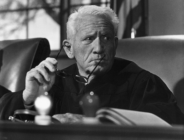 Spencer Tracy in Judgment at Nuremberg (Photo: Twilight Time)