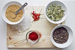 ASHLEY GOODWIN - SPICE, SPICE, BABY: Some of the low-priced selections at India Grocers