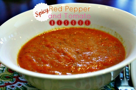 Spicy Red Pepper and Tomato Soup